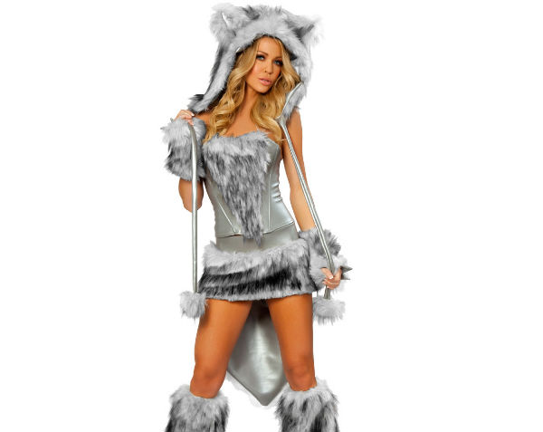 (Costume Yandy. Wolf Shutterstock)  sc 1 st  Vox & Sexy Halloween costumes vs. the real-life objects they barely ...