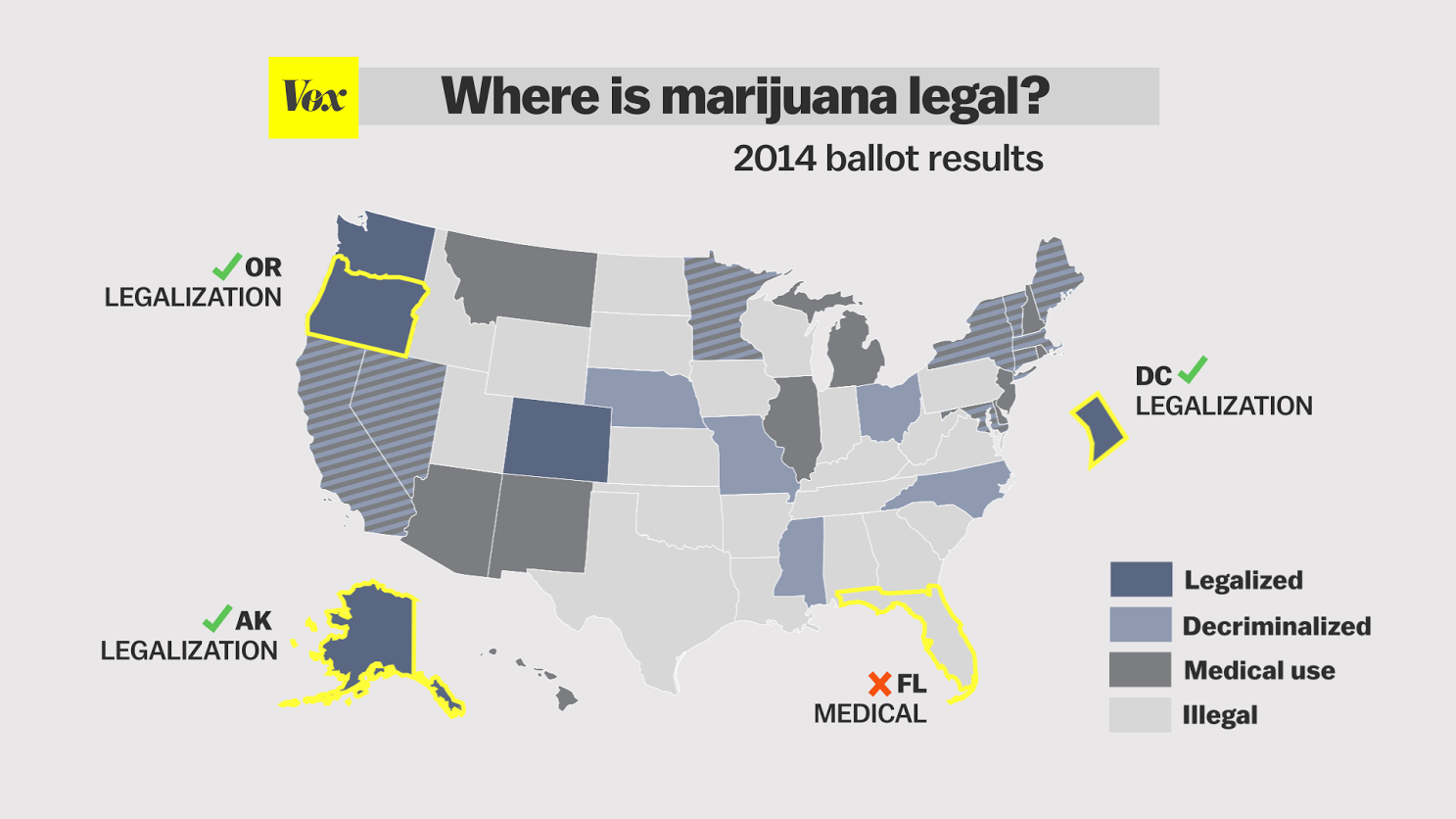 24 maps and charts that explain marijuana Vox