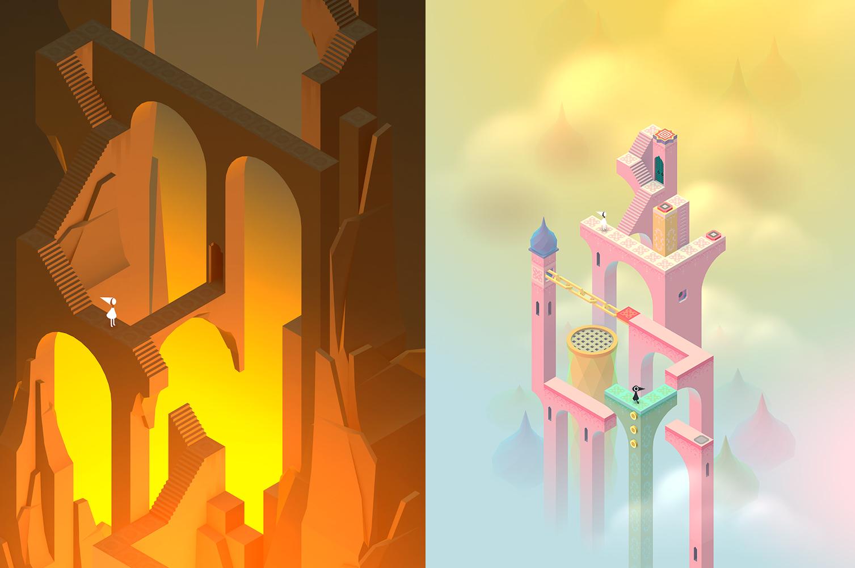 Resultado de imagen de monument valley game