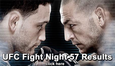 UFC Fight Night 57 Results