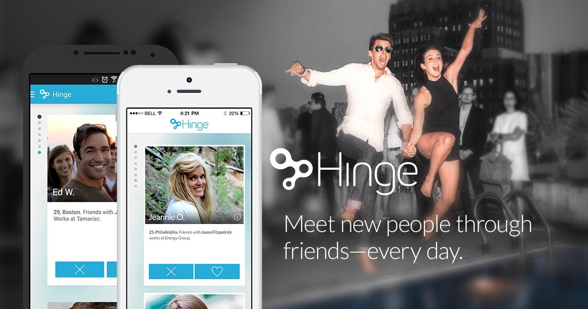 New dating app hinge