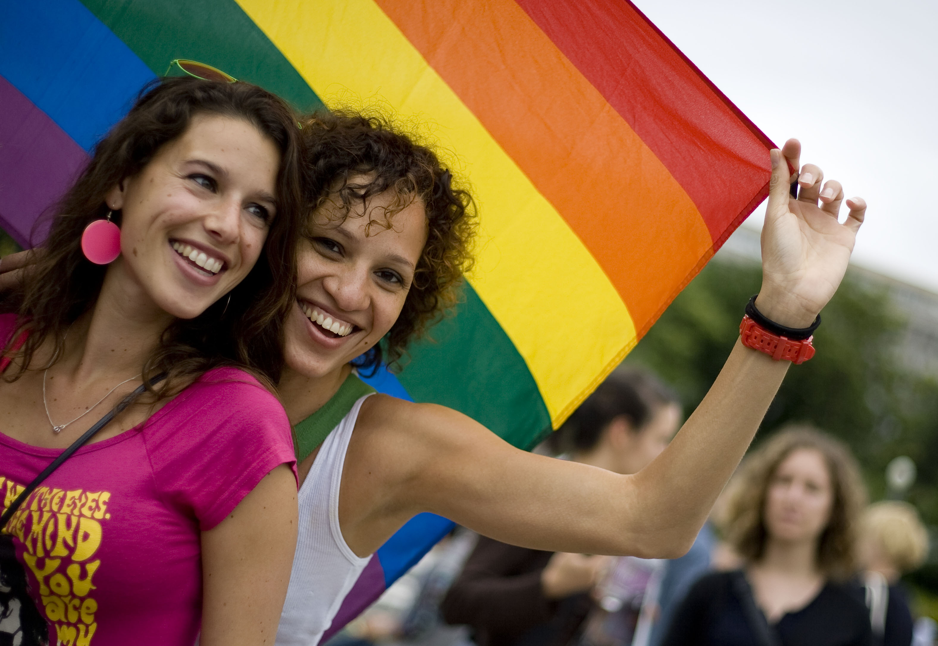 Slovak Republic same-sex couple