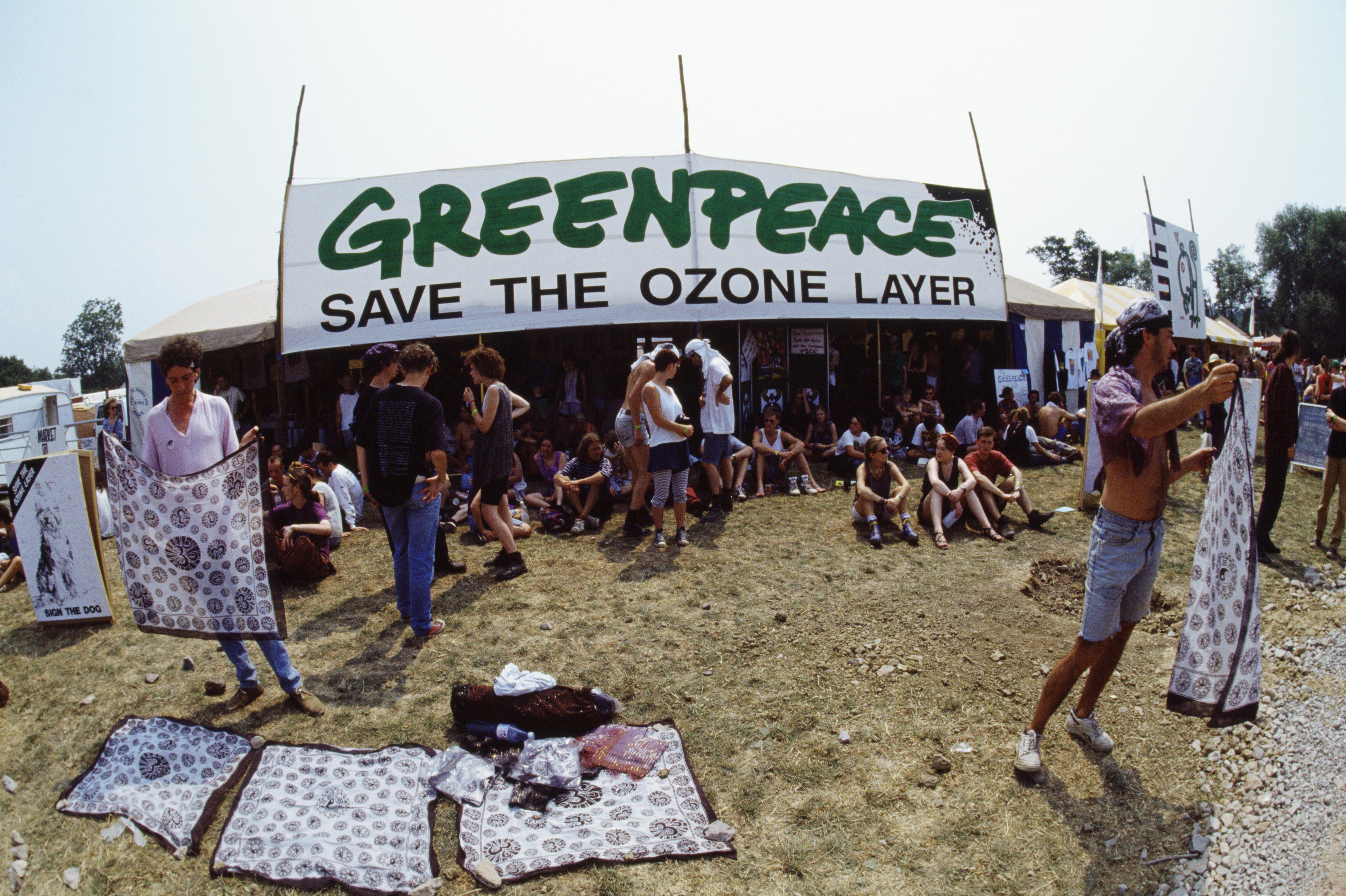 greenpeace ozone layer campaign