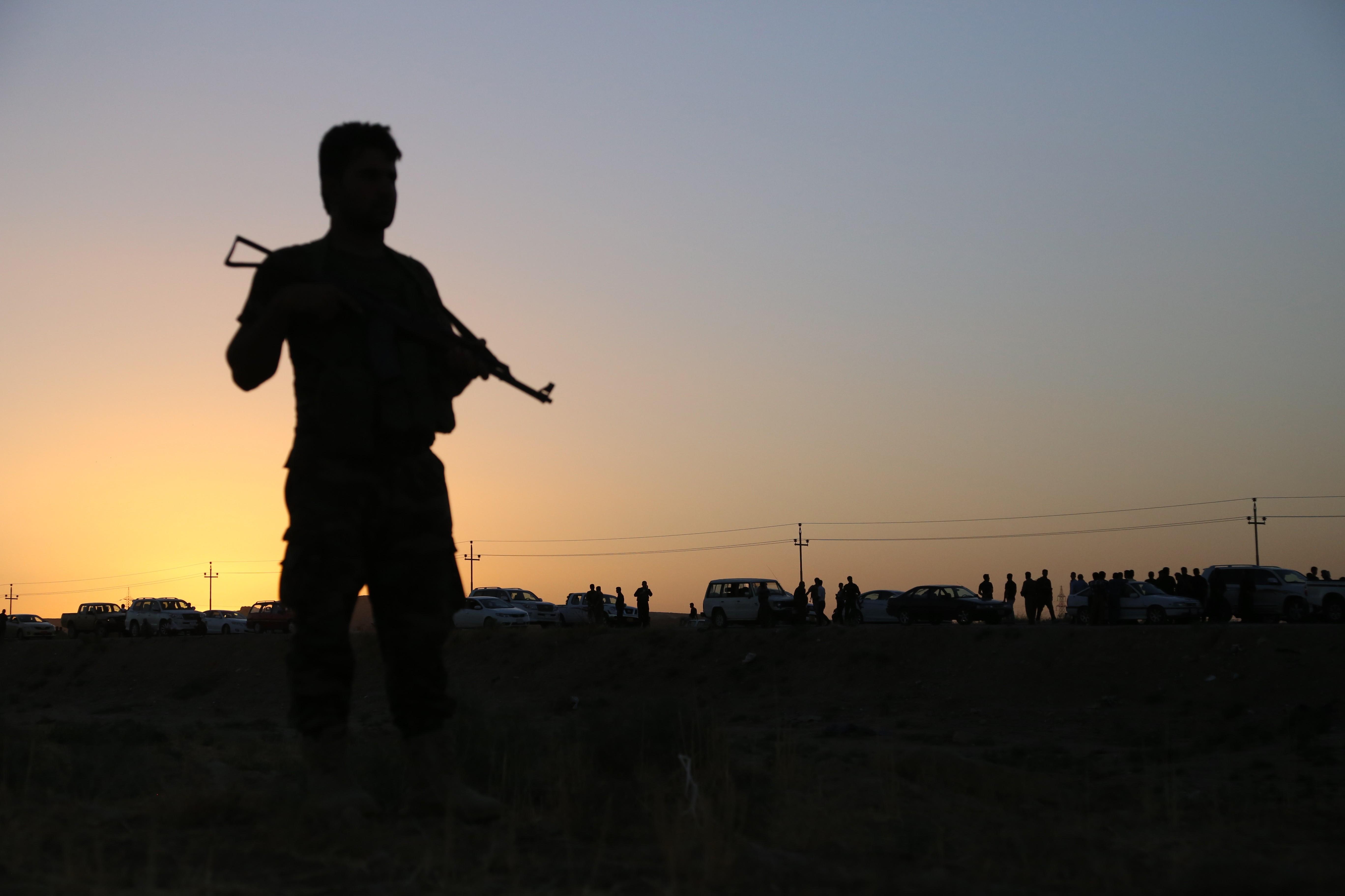 Peshmerga fighter Mosul