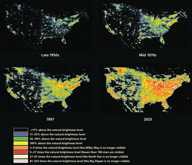 Light pollution is erasing the night sky Can we bring it back Vox