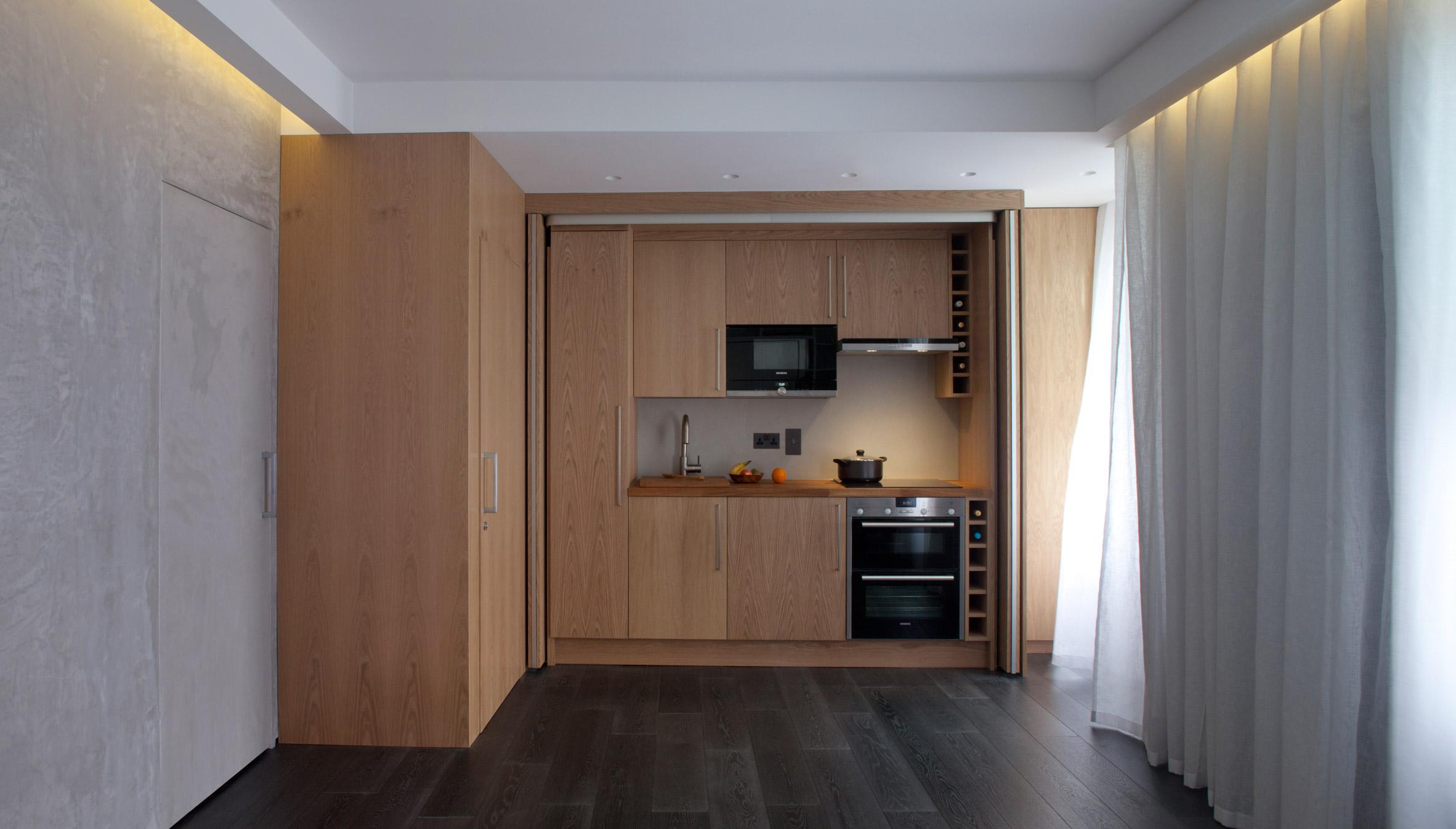 Фото дизайна квартиры студии 26 кв.м