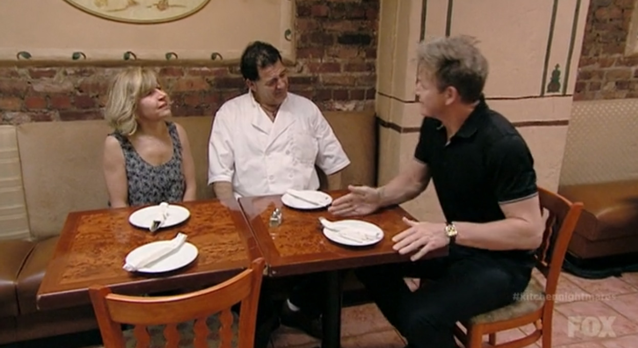Kitchen Nightmares: Kati Allo, Like Divorce Court, But With Food ...