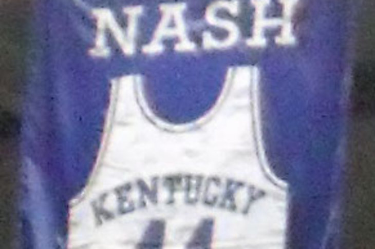 Rupp Arena Rafters Getting Painted Blue: Kentucky Wildcats Morning Quickies: Cotton Nash Edition