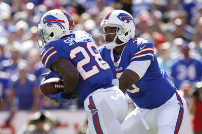 C.J. Spiller, EJ Manuel working together in California