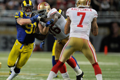Anthony Davis and Chris Long decide to kick up 49ers-Rams rivalry a notch