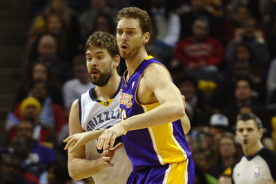 Offset language in 2008 trade sends Pau Gasol back to Grizzlies and Marc Gasol back to Lakers
