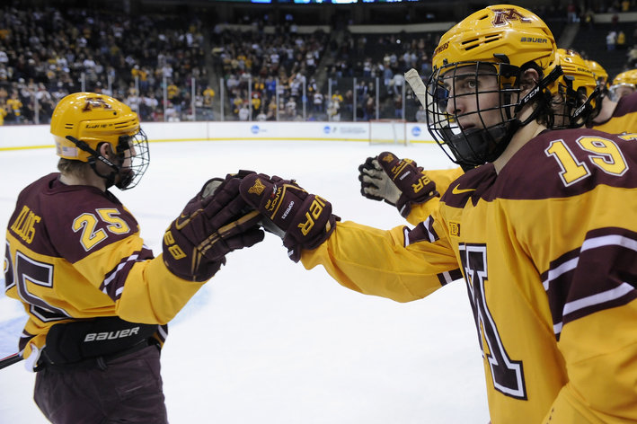 NCAA: Frozen Four Odds - Minnesota Favored, Boston College Not Far Behind