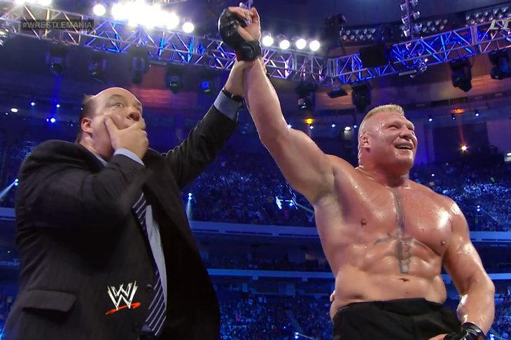 Image result for the undertaker vs brock lesnar wrestlemania 30