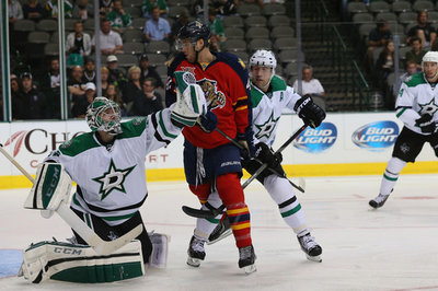 Recap: Panthers storm back to knock off Stars 3-2