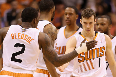Phoenix Suns combo of Goran Dragic and Eric Bledsoe are slashing toward the playoffs