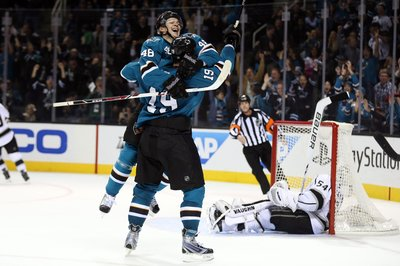 Report: Hertl could return for Game 1 against Los Angeles
