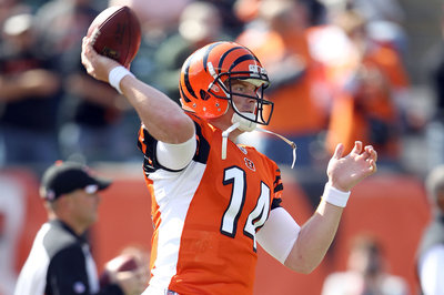 Andy Dalton working with Popular NFL Quarterback Tutor