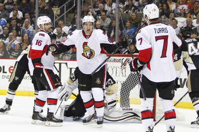Senators Beat Penguins 3-2 in Shootout to Finish Season