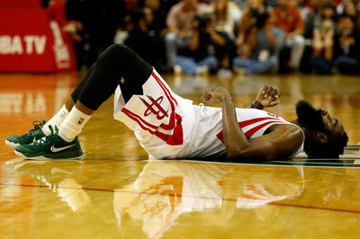 Rockets notes: Harden, Parsons, Lin to sit out, Josh Powell officially signed