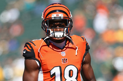 Bengals and A.J. Green haven't started negotiations on a long-term deal