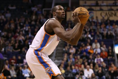 Serge Ibaka receives April Kia Community Assist Award