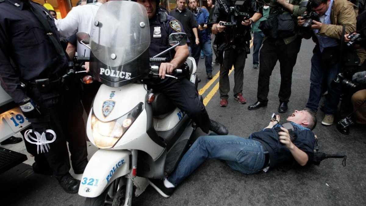 NYPD's Twitter Photo Contest Backfires With Images of Aggressive Police Force