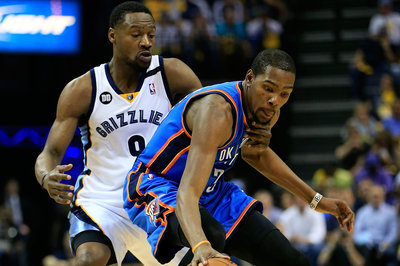 NBA Playoffs 2014: A Game of Mental Chess with Tony Allen and Kevin Durant