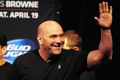 UFC Quick Quote: Dana White stopped reading the internet and shut himself off from that whole world