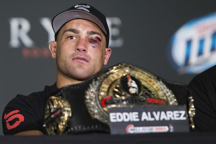 Eddie Alvarez suffers concussion, out of Bellator 120 - MMA Fighting