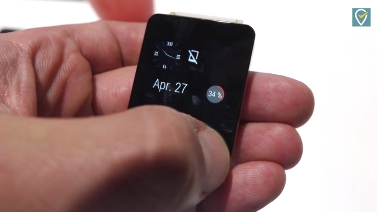 Watch Android Wear in action on an LG smartwatch