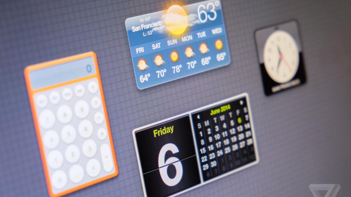 Bild zu «Vorgänger der OS X Yosemite und iOS 8 Widgets»