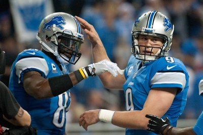 2014 NFL MVP odds for Matthew Stafford, Calvin Johnson