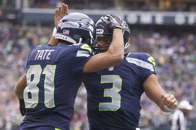 Golden Tate compares Matthew Stafford and Russell Wilson