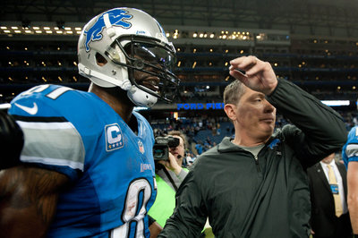 Lions notes: Calvin Johnson, Jim Schwartz, more