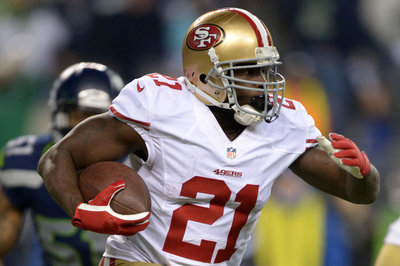 What kind of reduction will we see in Frank Gore's 2014 workload?