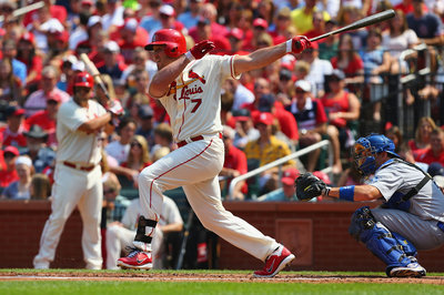 Matt Holliday's power is on the rise