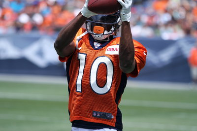 Broncos' Sanders studies plays - and players - to step up his game