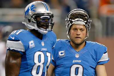 Lions notes: Calvin Johnson, Matthew Stafford, more