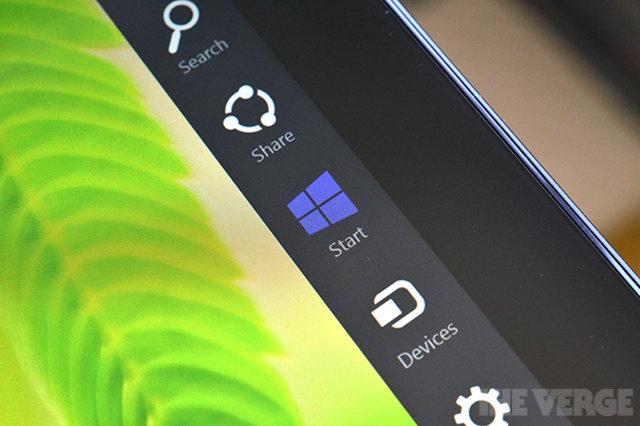 В Windows 9 исчезнет панель Charms и появятся виртуальные рабочие столы