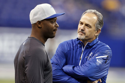 Chuck Pagano Turns into Reporter at Tuesday's Press Conference