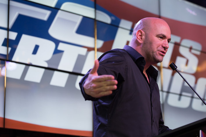 Dana White erupts over War Machine arrest, slams click happy media for calling him ex UFC fighter