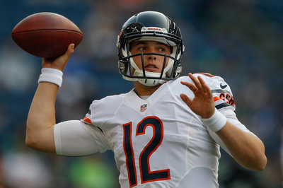 Chicago rookie QB David Fales to play the entire game against the Browns