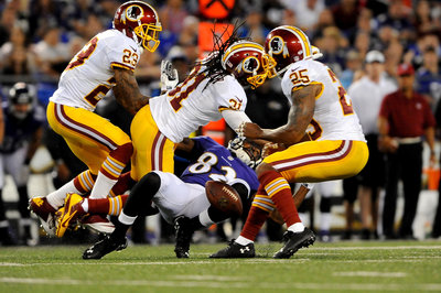 Brandon Meriweather Suspended for Two Games for Hit on Torrey Smith