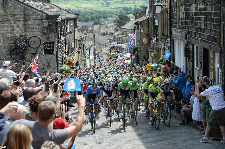Photo: A photographic record of the Tour de France's Yorkshire start.