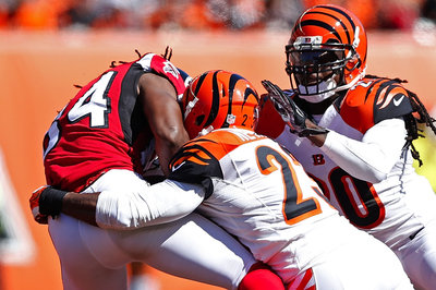 Roddy White upset with Bengals for getting speared in head (video)