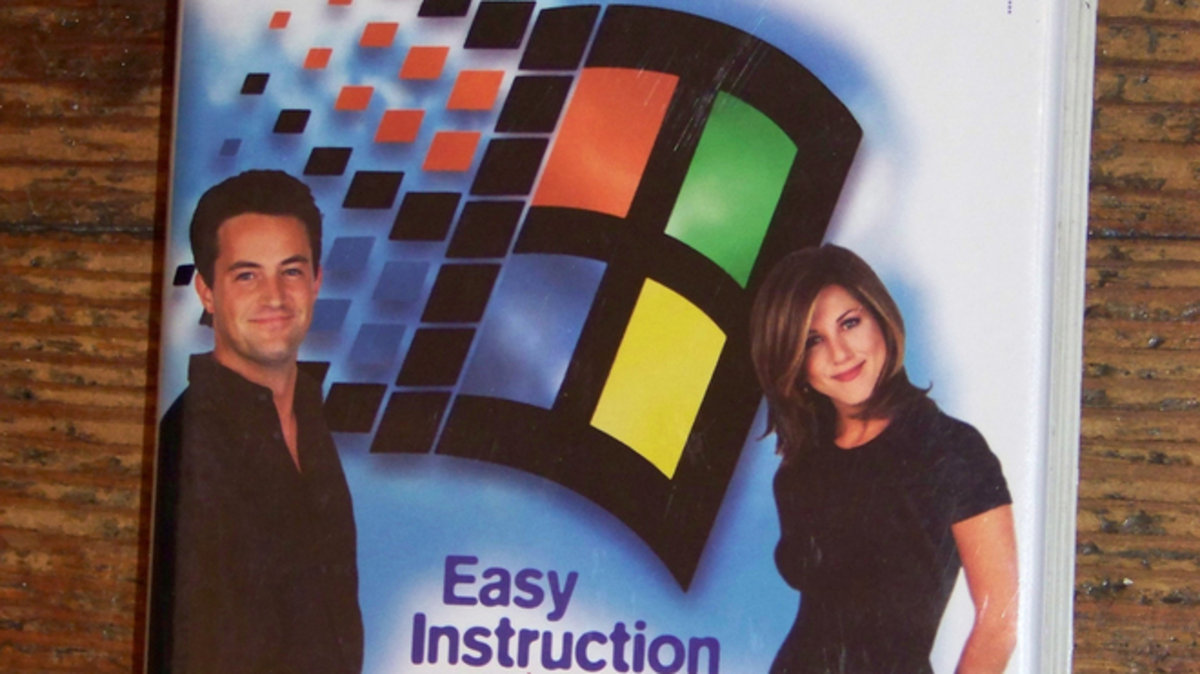 Celebrate 20 years of 'Friends' with this Windows 95 ...