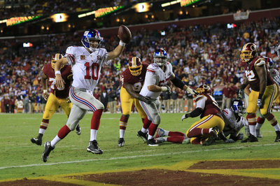 Eli running for a TD? Cruz says it's like 'seeing a unicorn'
