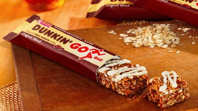 Dunkin' Donuts's Bold New Snack Item Is a Coffee-Flavored Granola Bar