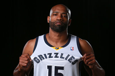 Vince Carter is going to be flexible for the Grizzlies, proactively seeking his role
