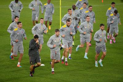 FC Basel v. Liverpool, 10.01.14